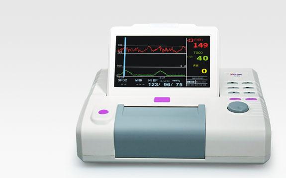 monitor san khoa ic60, máy theo dõi sản khoa, máy theo dõi cuộc đẻ đơn